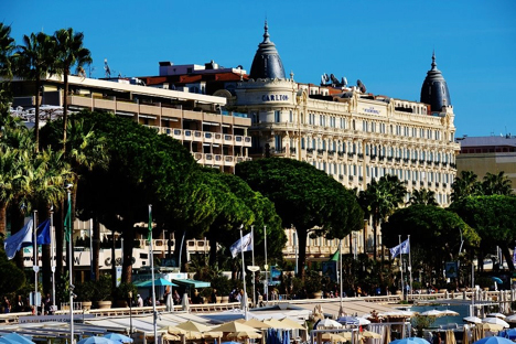 The Promenade de la Croisette Cannes France njcharters.com