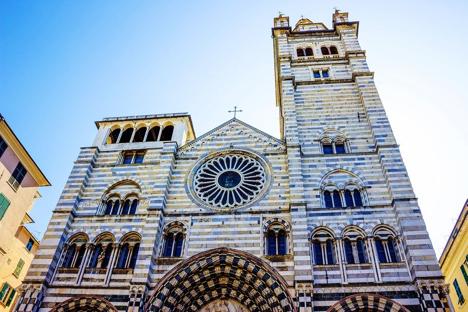 San Lorenzo Cathedral Genoa Italy njcharters.com