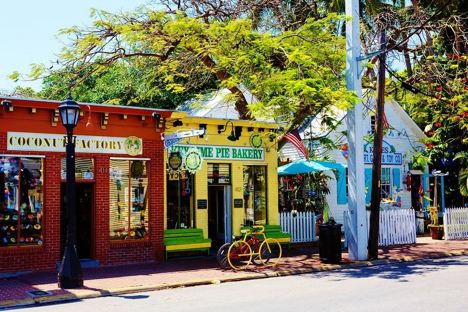 Shops on Duval Street Key West njcharters.com