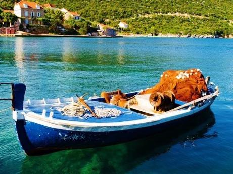 Sipan Island Fishing Boat Croatia njcharters.com
