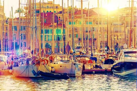 Vieux Port Cannes France njcharters.com