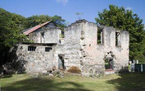 Bequia Old Sugar Mill Ruins