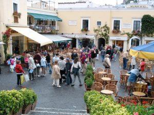Main town of Capri njcharters.com
