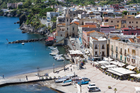 Lipari island Italy njcharters.com