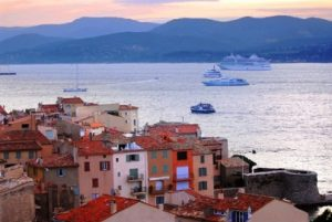 San Tropez at Sunset