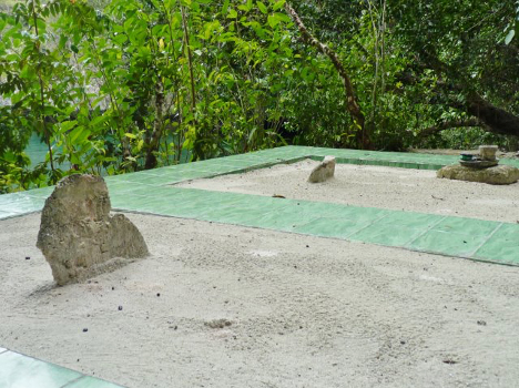 Village Elders Graves Guarding Cave Entrance