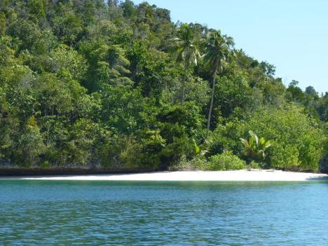 Wayilbatan Lagoon beautiful beach