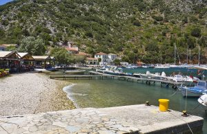Ithaki Island Fishing Village