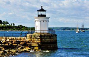 Bug Light Casco Bay Maine njcharters.com