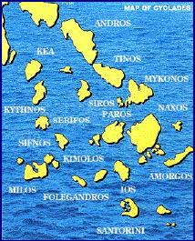 Cyclades Islands Greece njcharters.com