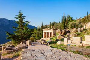 Dephi ruins greece njcharters.com