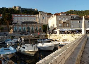 Hvar Town and Castle Croatia njcharters.com