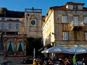 Hvar Town Square Croatia njcharters.com