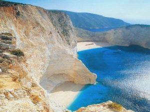 Navigio Beach Zakynthos Greece njcharters.com