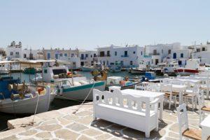 Paros Harbor Cyclades Greece njcharters.com