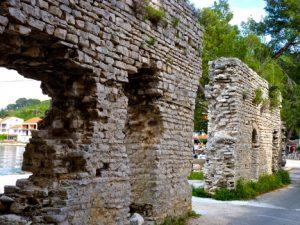 Polace Roman Palace Ruins Mljet Croatia njcharters.com
