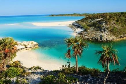 Shroud Cay Bahamas yacht charter njcharters.com