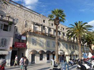 Split Facade of Diocletians Palace Croatia njcharters.com