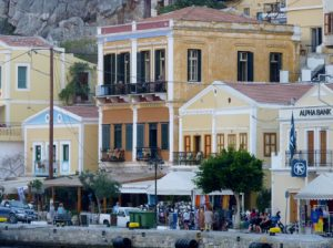 Symi Harbor Greek Island njcharters.com