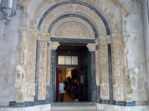 Trogir Cathedral Croatia njcharters.com