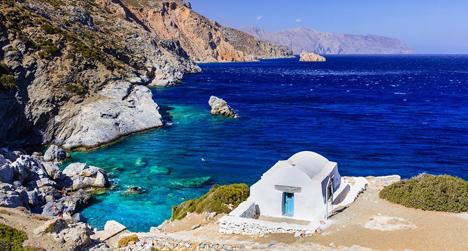 Amorgos Greece yacht charter njcharters.com