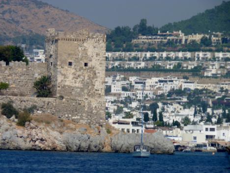 Bodrum Castle Turkey yacht charter njcharters.com