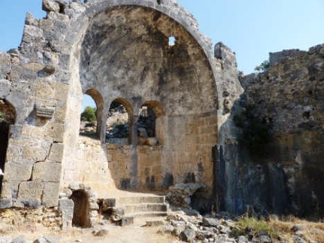 Gemiler Island Ruins Turkey yacht charter njcharters.com