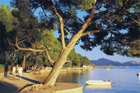 Puerto Pollenca Mallorca Spain yacht charter njcharters.com