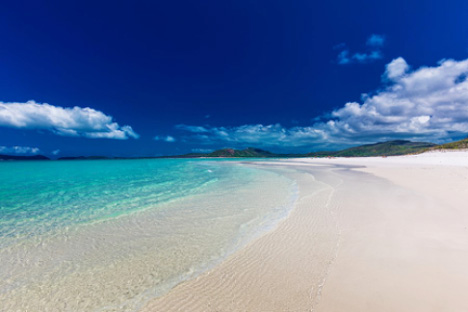 Whitehaven Beach Whitsunday Islands Australia yacht charter njcharters.com