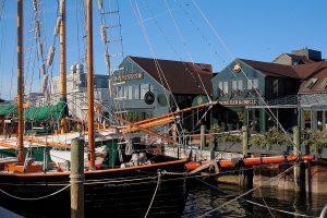 Bowen's Wharf in Newport Rhode Island