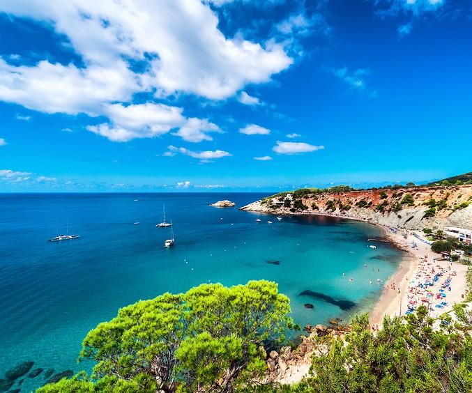 Cala D hort Beach Of Ibiza
