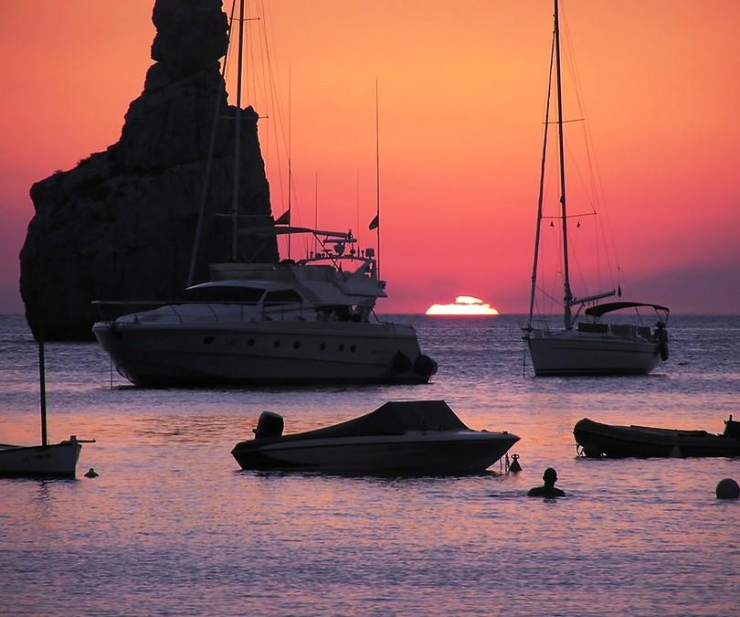 Ibiza Famous Sunset