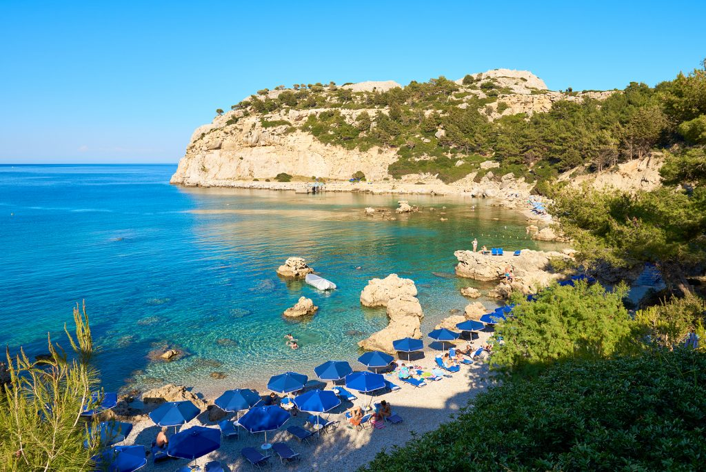Secluded Beach- Rhodes. Greece