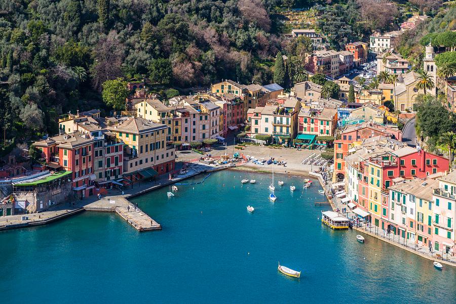 The Picturesque Harbor of Portofino, Italy