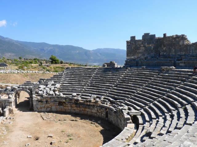 Xanthos AmphitheaterTurkey