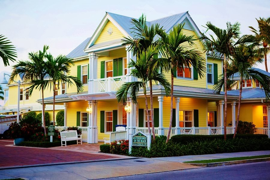 Florida, Key West, House on Duval Street www.njcharters.com