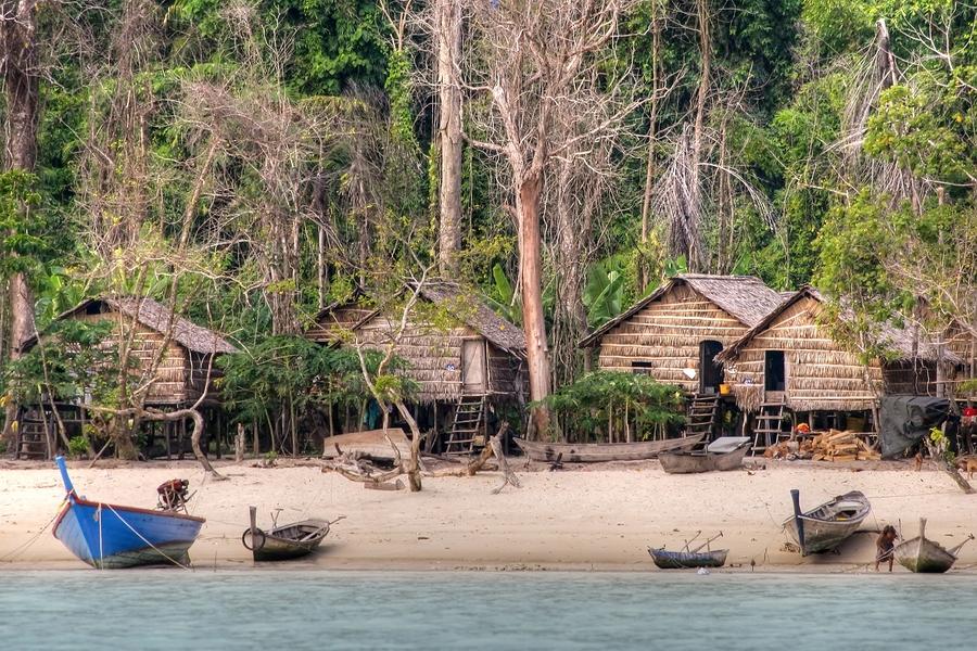 Mergui Archipelago Moken Sea Gypsy Village