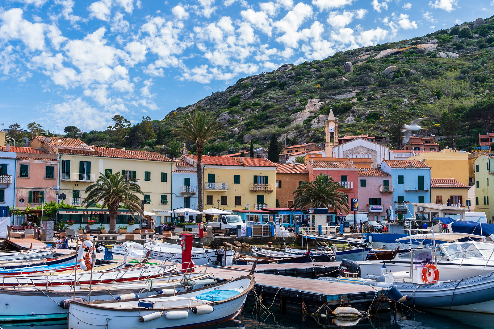Giglio Island Port and Village, Italy njcharters.com