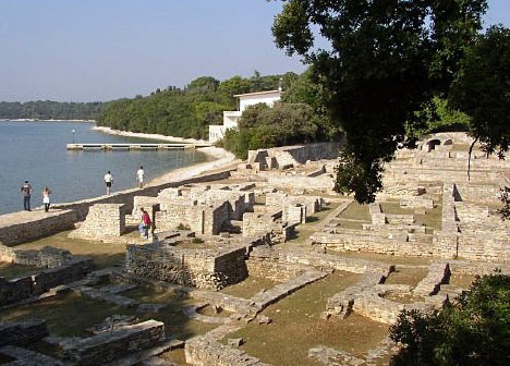 Remains of Roman Villa on Veli Brijun Island njcharters.com