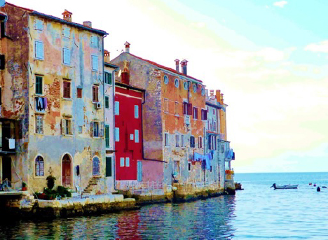 Rovinj Harbor Croatia Yacht Charter njcharters.com