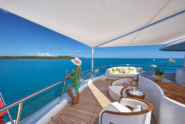 Serenity on Private Yacht Charter