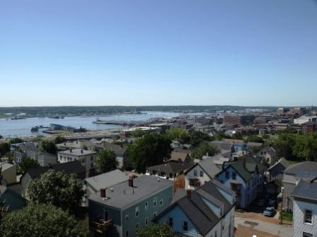 Harbor in Portland, Maine
