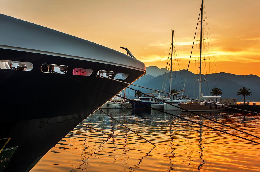 Tivat Montenegro Harbor