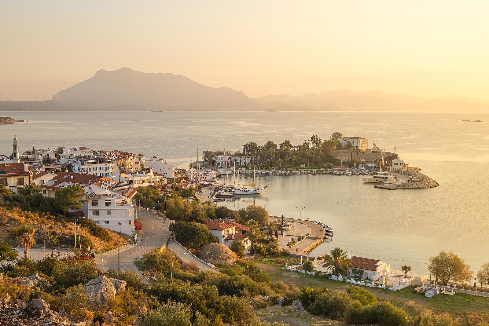 Datca, Turkey at Sunrise